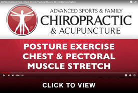 Seth Overland Park Chest Pectoral Muscle Stretch